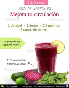 H bitos health coaching jugo de verduras b jale al - Medias para la circulacion ...