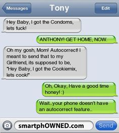 Page 34 - Autocorrect Fails and Funny Text Messages - SmartphOWNED