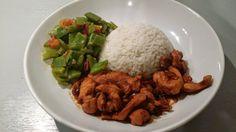 Ketjap kip met snijbonen en rijst | LeinKookt.... makkelijk, lekker en meestal gezond