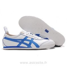 Asics Onitsuka Tiger chers cours Mexico 66 Lauta Chaussures Borland Blanc Onitsuka Tiger France