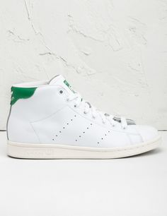 a42084c11b8624 adidas Originals White Green Stan Smith Mid Shoes -  63.00 Adidas Mid Tops