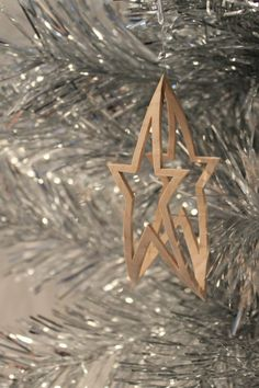 Scroll saw pattern Christmas Ornament: Star by ClaytonsPatterns