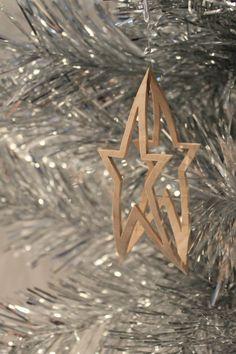 Dekupiersäge Muster Christbaumschmuck: Star von ClaytonsPatterns Mehr