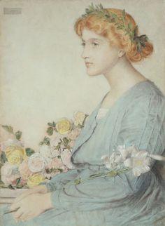 The Laurel Wreath - Frederick Sandys