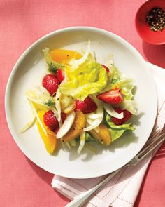 Strawberry, Fennel, and Orange Salad - Whole Living Eat Well