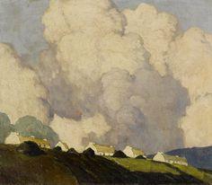 """Dooega, Achill Island, County Mayo,"" Paul Henry, Undated;"