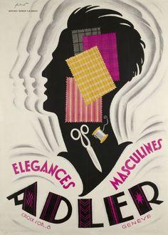 Adler, élégances masculines (Fontanet Noel / 1930)