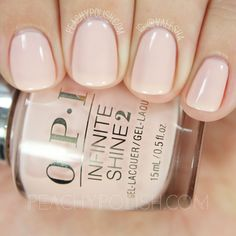 OPI Bubble Bath | Infinite Shine Iconic Collection | Peachy Polish