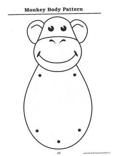 Monkey puppet 1/2