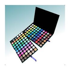 BH Cosmetics 120 Color Eyeshadow Palette 2nd Edition, (eyeshadow palette, eye shadow, makeup, makeup kit, multicolor palette, eyeshadow, eye makeup, coastal scents, multicolor palettes, colorful)