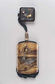Box-netsuke with design of toys | Museum of Fine Arts, Boston