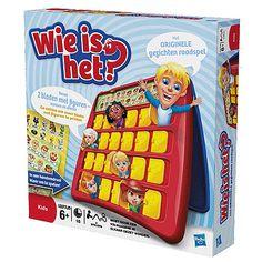 Spel Wie is het? Het klassieke spel, raad door middel van slimme vragen wie je tegenstander is! Geschikt vanaf 6 jaar en voor 2 personen.
