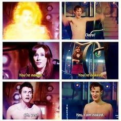 Naked doctor