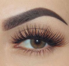 Schedule an appointment with Esthetician Sabrina for lash extensions, eye brow maintenance and makeup. #lashesextensions #EyeLashesGrowth