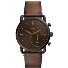 Fossil Q Commuter Leather Strap Hybrid Smart Watch, 42Mm ($155) ❤ liked on Polyvore featuring jewelry, watches, fossil wrist watch, leather-strap watches, fossil jewelry, fossil watches and fossil jewellery Sale! Up to 75% OFF! Shop at Stylizio for women's and men's designer handbags, luxury sunglasses, watches, jewelry, purses, wallets, clothes, underwear & more!