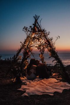 Between the ocean backdrop for their ceremony and the floral teepee for their reception, every detail of this Big Sur elopement is unbelievably dreamy. Wedding Proposals, Wedding Tips, Trendy Wedding, Wedding Blog, Perfect Wedding, Wedding Ceremony, Dream Wedding, Wedding Day, Reception