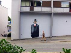 Street Art Murals By Martin Whatson In Stavanger Norway For Nuart Urban Art Festival. 2