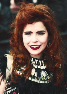 Her name was New York, New York Paloma Faith Hair, Red Hair Inspiration, Eccentric Style, Red Hair Don't Care, Retro Hairstyles, Beautiful Long Hair, Dream Hair, Hair Today, Cut And Style