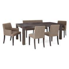 dining room dining room sets formal granite top dining raleigh 7 pc dining set black