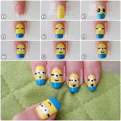 nail art diy - nail art designs - nail art - nail art designs easy - nail art videos - nail art designs for spring - nail art designs summer - nail art tutorial - nail art diy Trendy Nail Art, Nail Art Diy, Easy Nail Art, Cool Nail Art, Best Nail Art Designs, Nail Polish Designs, Simple Nail Designs, Nails Design, Diy Nail Designs Step By Step