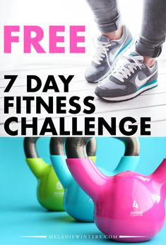 #bloggingboost Join us for a FREE 7 day fitness challenge! All workouts are free for you to do right at home with no equipment necessary.