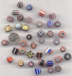 antique chevron beads | Chevron beads - Courtesy of Mike Albanese