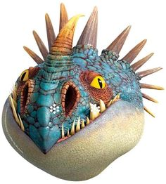 Nadder - Official How to Train Your Dragon 2 Face Mask: Amazon.fr: Jeux et Jouets