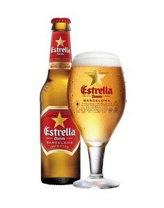 Estrella Damm, Pale Lager 4,6% ABV (Grupo Damm, España)