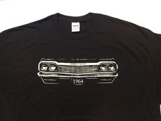 a82fcbb0 Details about Car Grille Art™ Teeshirt, T-Shirt, 1964 Impala