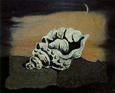 Shell - Salvador Dali  #dali #paintings #art