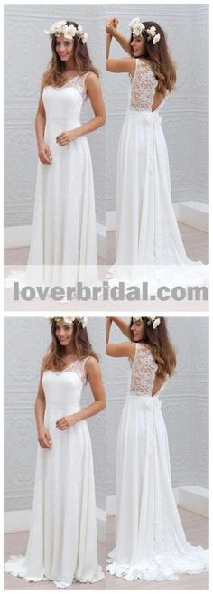 V Neck Sexy Open Back Long Cheap Wedding Dresses Online, – LoverBridal Second Hand Wedding Dresses, Wedding Dresses Plus Size, Plus Size Wedding, Wedding Gowns, Wedding Dress Sleeves, Long Sleeve Wedding, Best Wedding Websites, Cheap Wedding Dresses Online, Inexpensive Wedding Venues