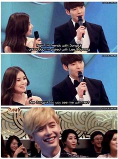 their friendship <3 they are so cute #KimWooBin #LeeBoYoung #JangYangSuk
