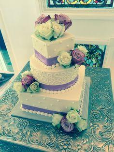 Purple & scrolls