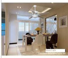Resultado de imagem para sala decorada com ventilador de teto