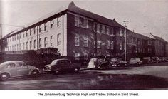 Johannesburg Technical College, Smit Street, Braamfontein.