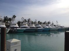 Beautiful sight down in the Bahamas at Old Bahama Bay Sport Fishing, Fishing Boats, Viking Yachts, Dinghy, Sick, Ocean, Water, Outdoor Decor, Sports