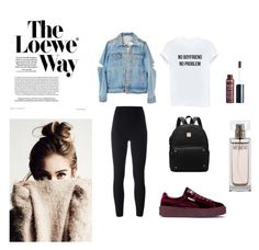 """""""Simple"""" by carlacorucho on Polyvore featuring Puma, Loewe, adidas Originals, Calvin Klein and Charlotte Russe"""