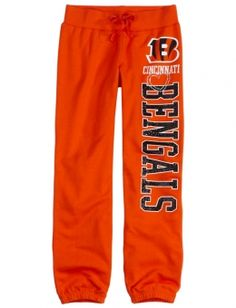 Cincinnati Bengals Fleece Cuff Sweatpant