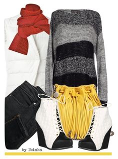A fashion look from January 2016 featuring grey shirt, Eleventy and zipper jeans. Fashion Women, Women's Fashion, Fashion Trends, Prabal Gurung, Sweater Weather, Stella Mccartney, Polyvore Fashion, Women's Clothing, Mango