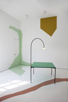 muller van severen - table+lamp - Workshop of Wonders - www. Bauhaus, Interior Design Magazine, Chanel Decoration, Low Tables, Dining Tables, Table Lamps, Table Seating, Interior Architecture, Furniture Design