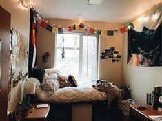 my dorm room at mckendree university #college #dorm #dormroom #dormdecor #dormgoals #artsy #growingupagirl #fur #urban #modern