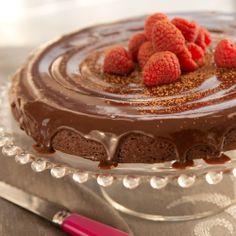 Mocha Torte with Hazelnut Ganache  - Baker's Joy makes baking a breeze!  #bakersjoy bakersjoy.com #dessert