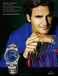Together with Roger Federer, Rolex has an entire team of ambassadors to uplift the already established brand's class position, breathing the cool and glamourous aroma of victory.