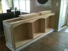 Half Wall Room Divider half wall room divider - something like this between family room