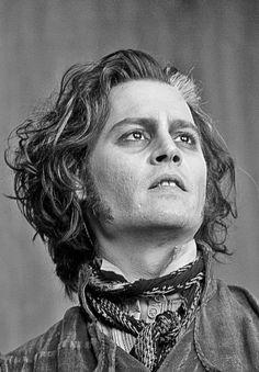 Johnny Depp in Sweeney Todd