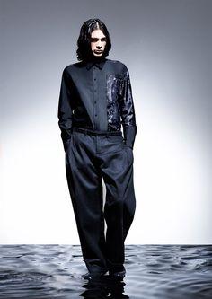 Andrea-Cammarosano_fw14_fy8 Black Space, Fall Winter 2014, Catwalk, Raincoat, Normcore, Menswear, Mens Fashion, How To Wear, Jackets