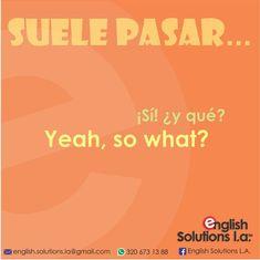 Spanish Help, Spanish Phrases, Spanish English, English Phrases, English Study, English Words, Spanish Class, English Articles, English Lessons