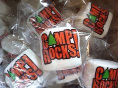 12 jumbo custom logo personalized marshmallows by CandyWithATwist