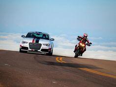 Audi & Ducati #ComeTogether at Pikes Peak