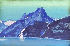 nicholas roerich paintings | lago de los nagas cachemira nicholas roerich oleo